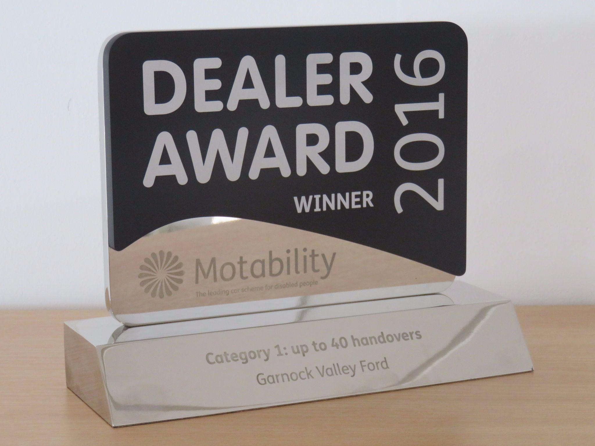 UK National Motability Award