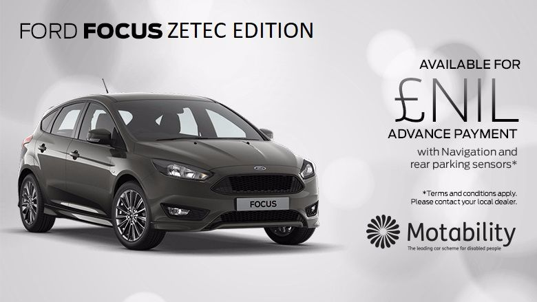 Ford Focus Zetec Edition 1.0T 125PS Ecoboost